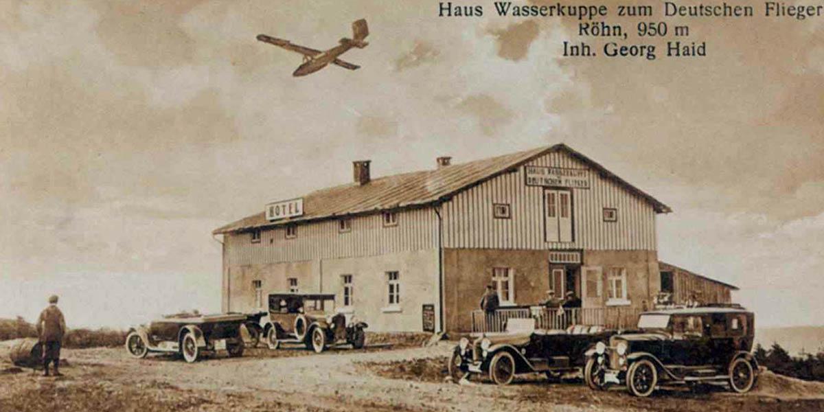 Deutscher Flieger Wasserkuppe